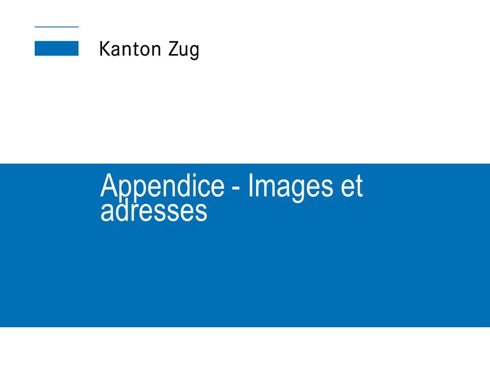 Appendice - Images et adresses