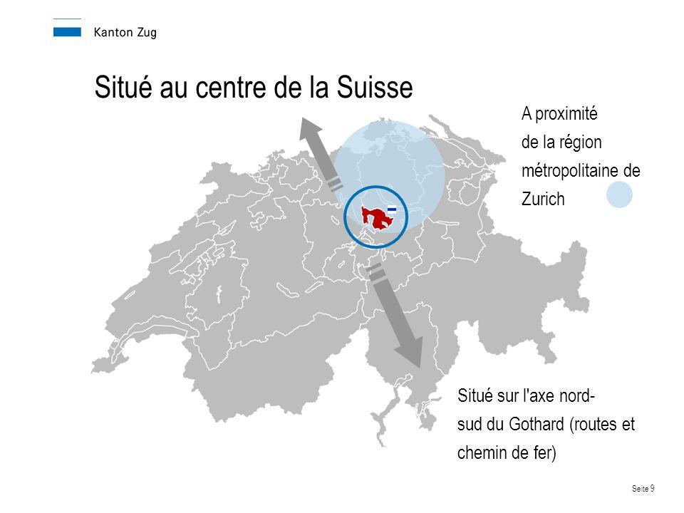 Situé au centre de la Suisse