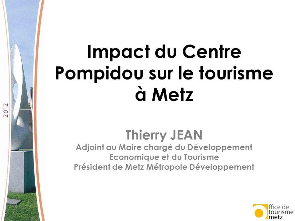 Impact du Centre Pompidou sur le tourisme à Metz