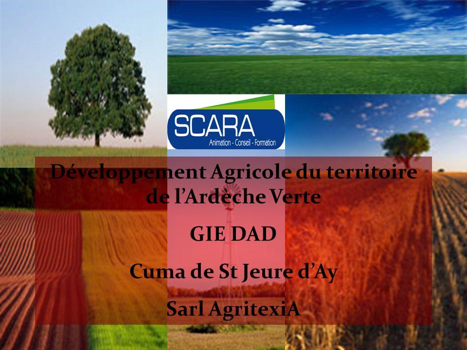 Développement Agricole du territoire de l'Ardèche Verte