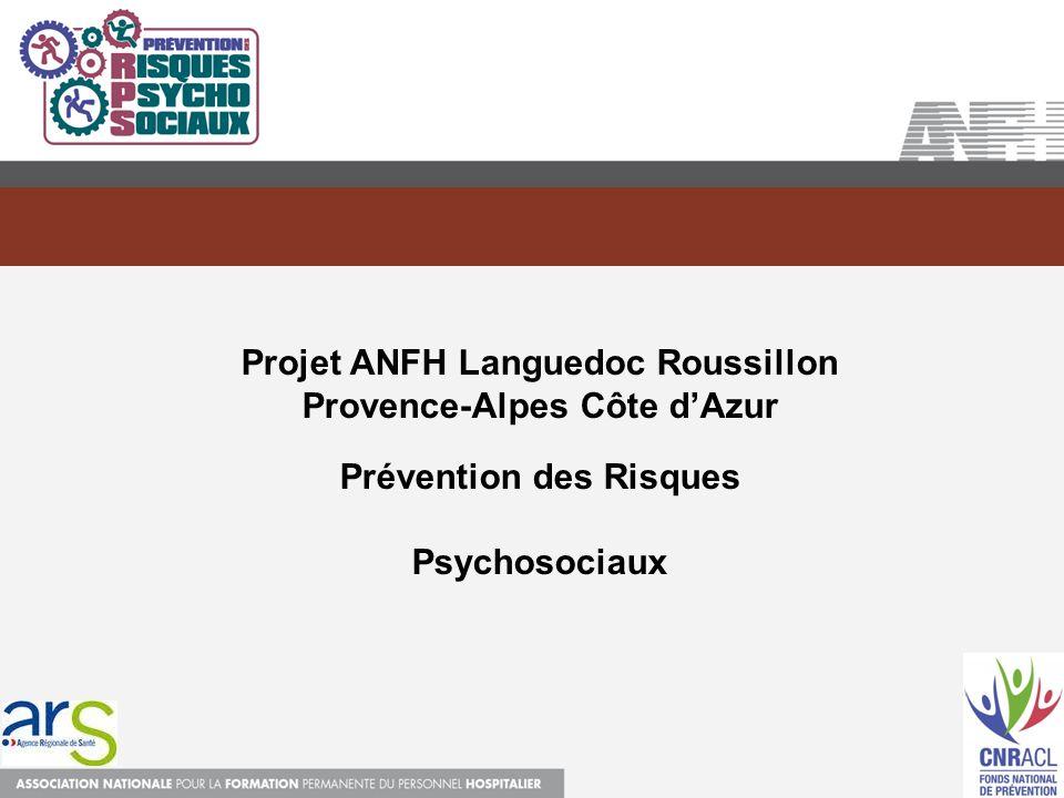 Projet ANFH Languedoc Roussillon Provence-Alpes Côte d'Azur
