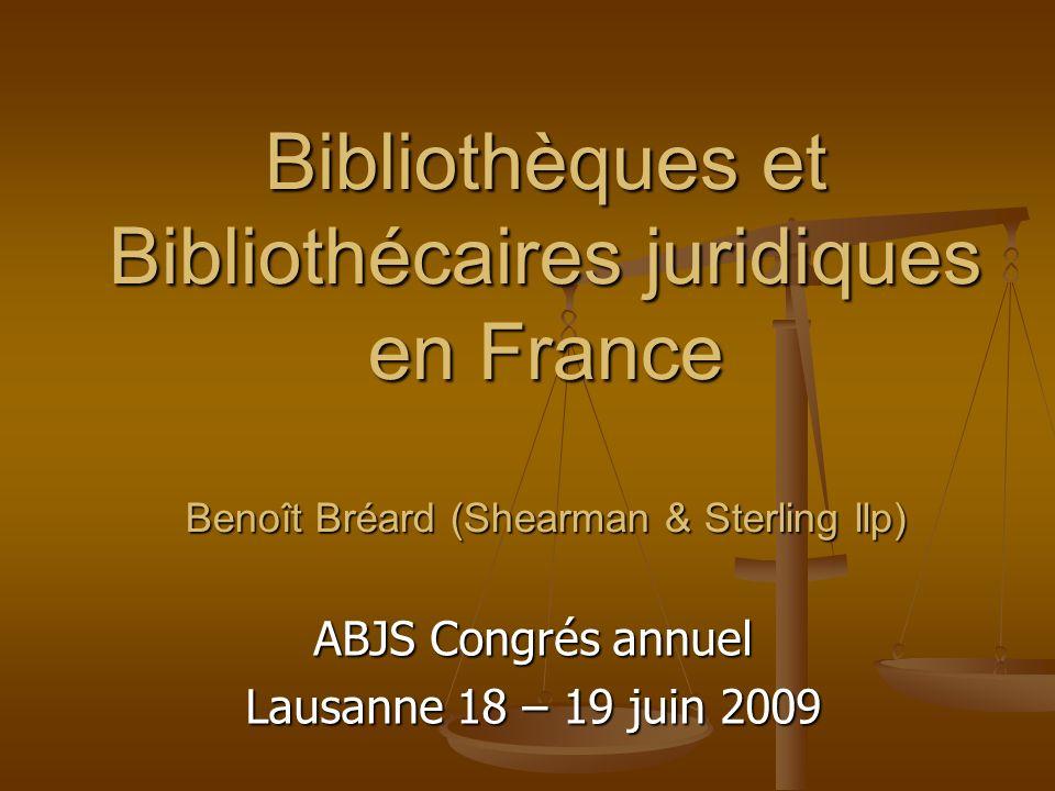 ABJS Congrés annuel Lausanne 18 – 19 juin 2009