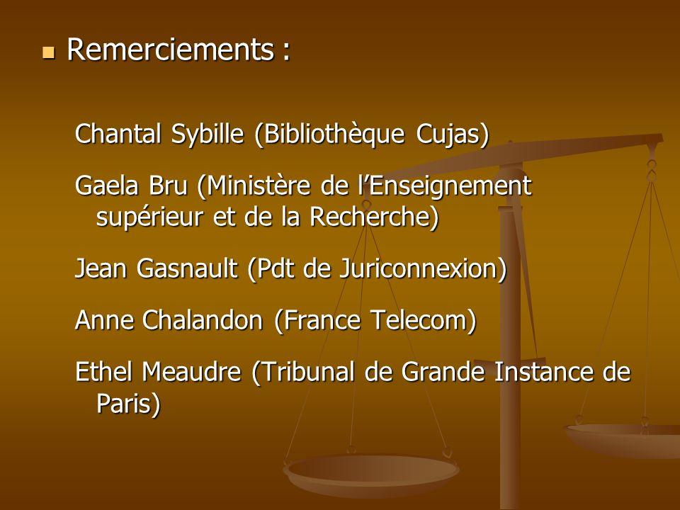 Remerciements : Chantal Sybille (Bibliothèque Cujas)