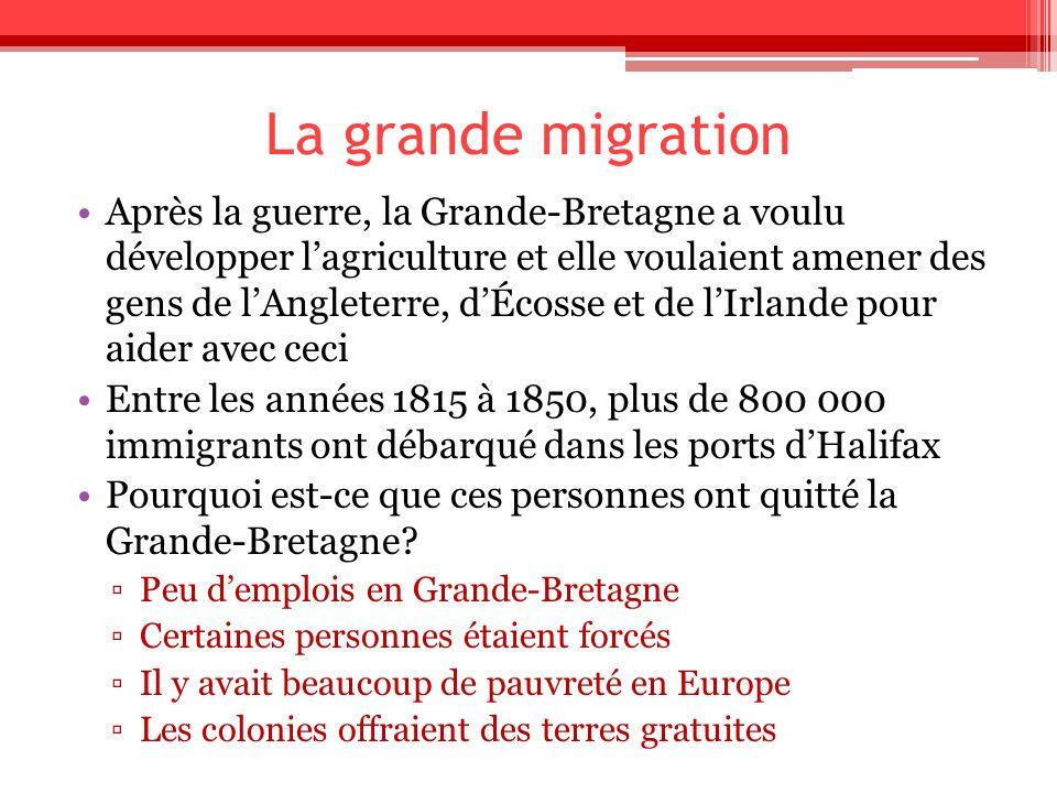 La grande migration