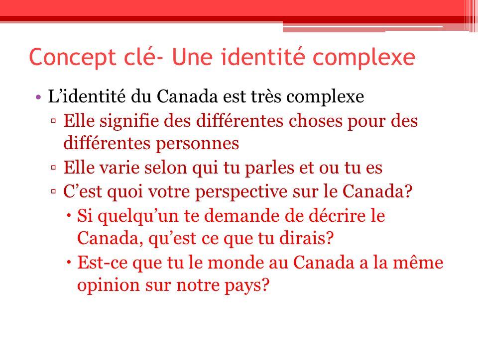 Concept clé- Une identité complexe