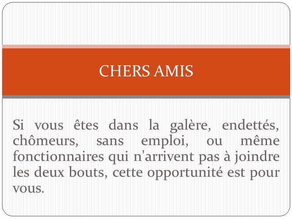 CHERS AMIS