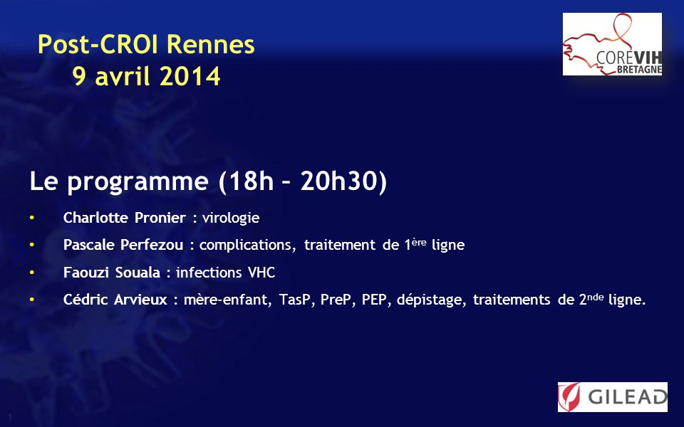 Post-CROI Rennes 9 avril 2014