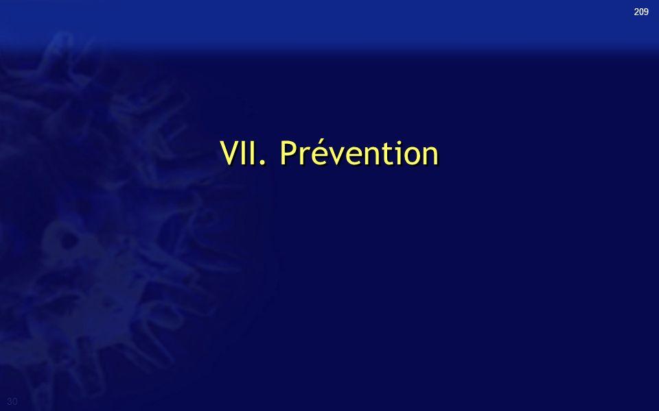 209 VII. Prévention