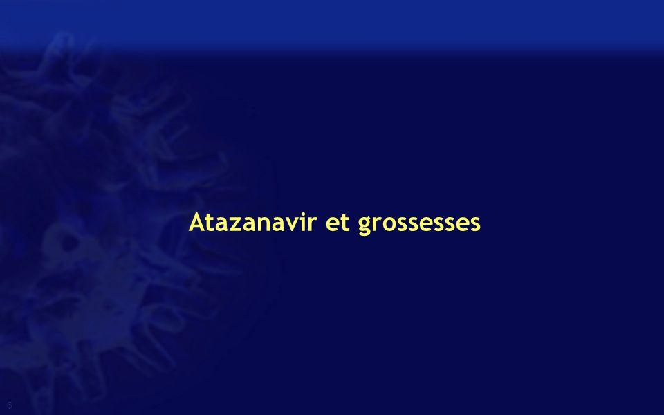 Atazanavir et grossesses