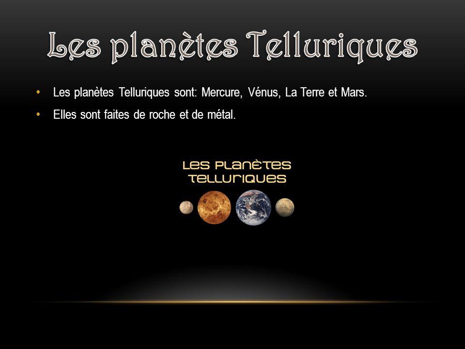 Les planètes Telluriques