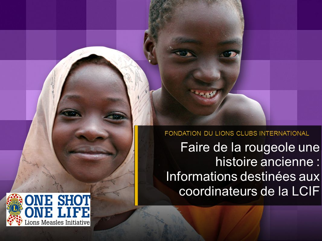 FONDATION DU LIONS CLUBS INTERNATIONAL