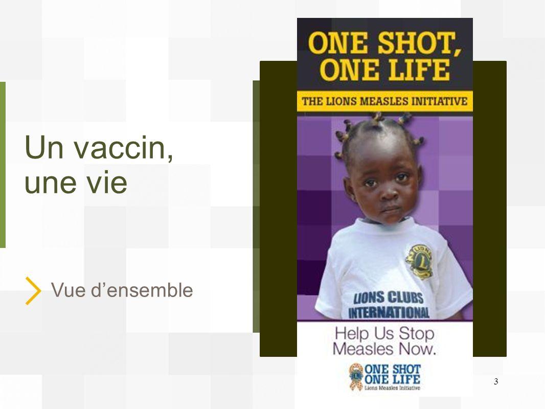 Un vaccin, une vie Vue d'ensemble