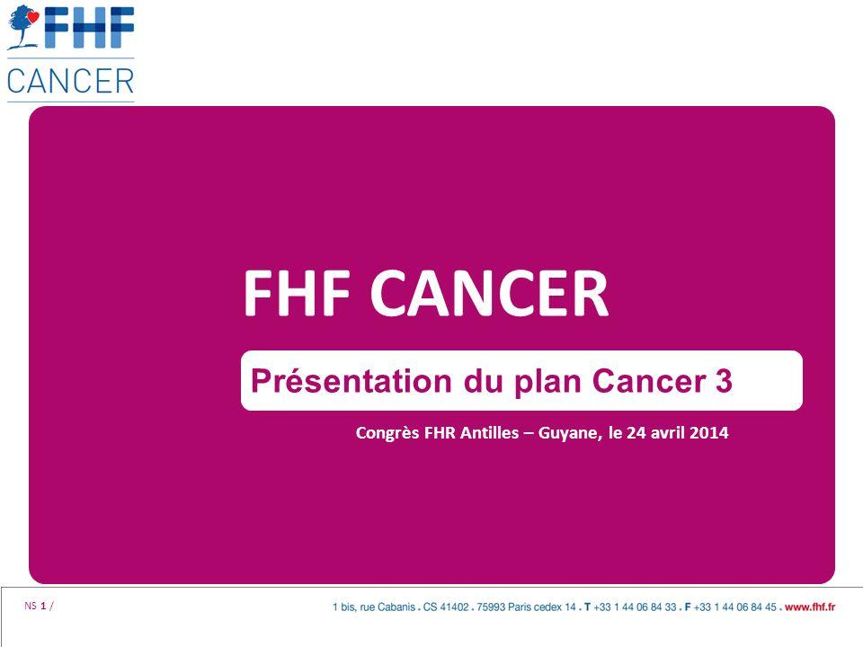 FHF CANCER Présentation du plan Cancer 3