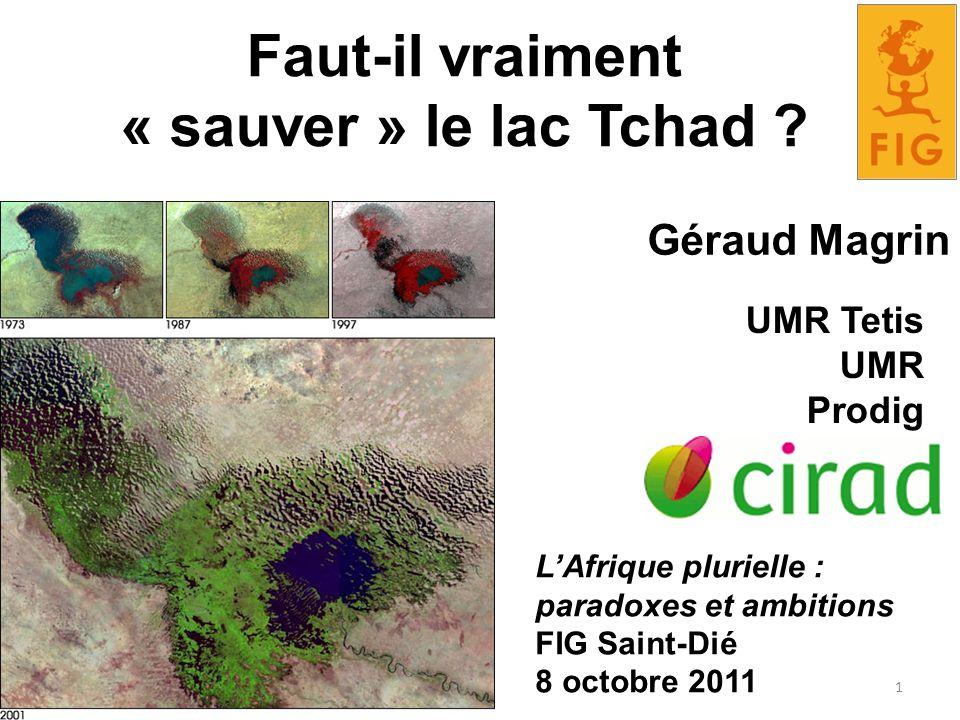 Faut-il vraiment « sauver » le lac Tchad