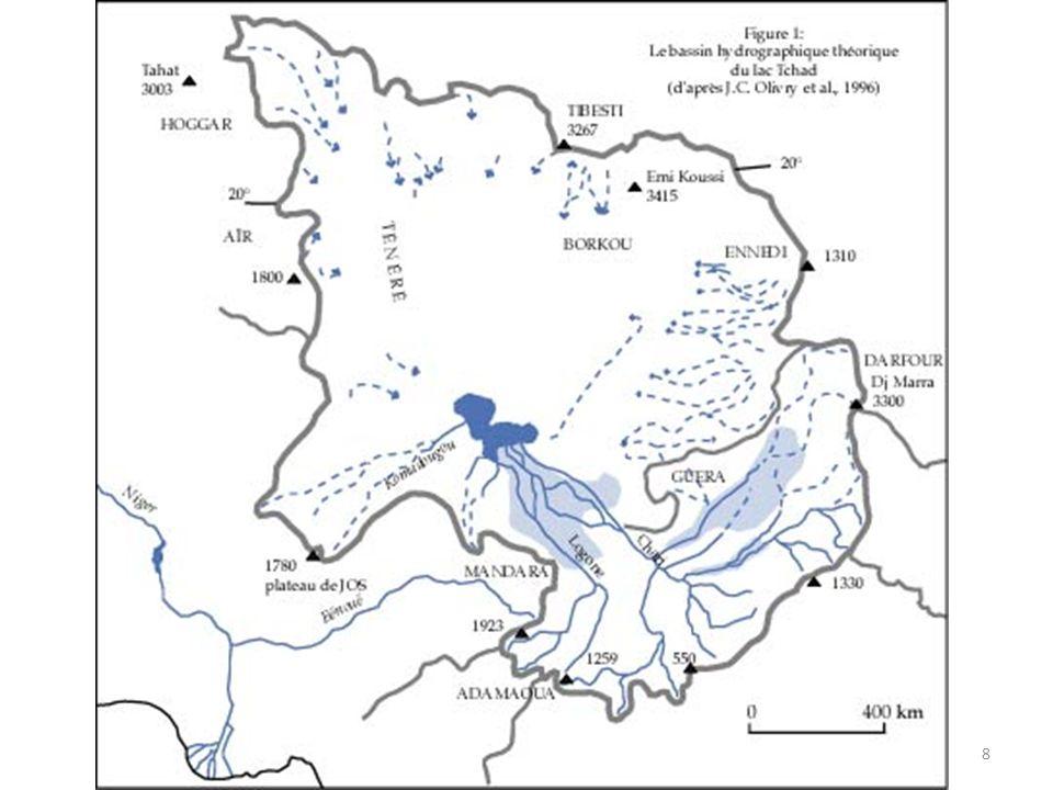 Un bassin hydrologique de plus de 2,4M de km2