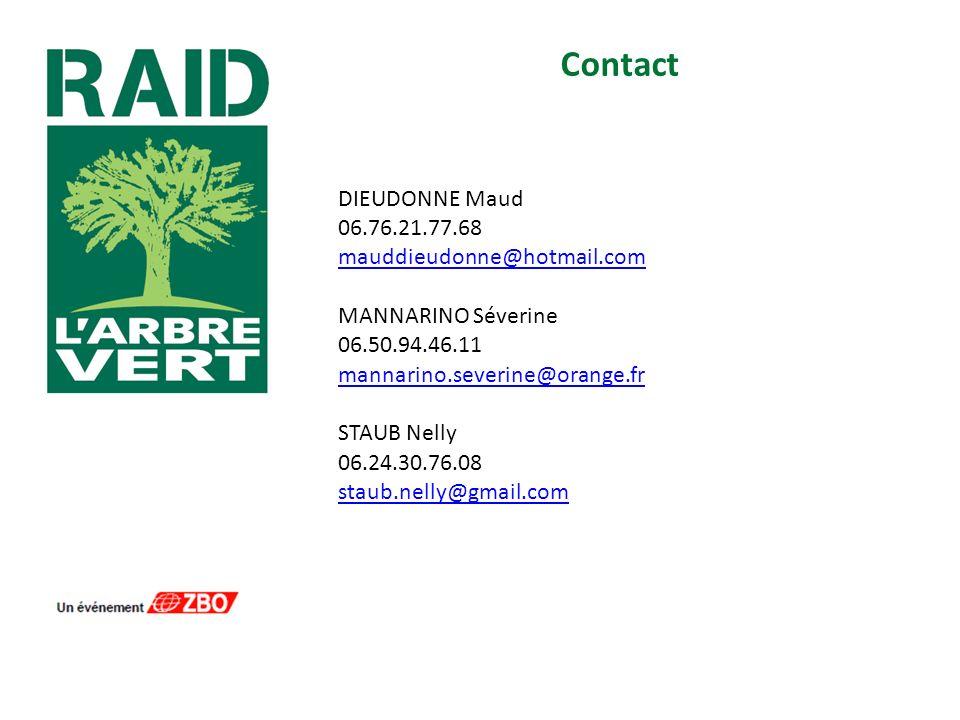 Contact DIEUDONNE Maud 06.76.21.77.68 mauddieudonne@hotmail.com