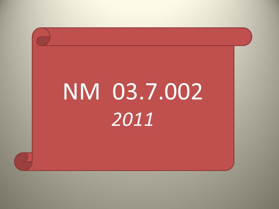 NM 03.7.002 2011