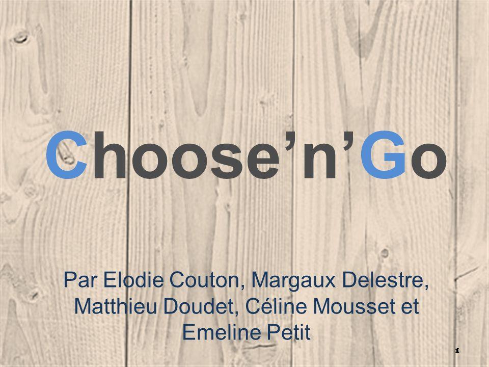 Choose'n'Go Par Elodie Couton, Margaux Delestre, Matthieu Doudet, Céline Mousset et Emeline Petit