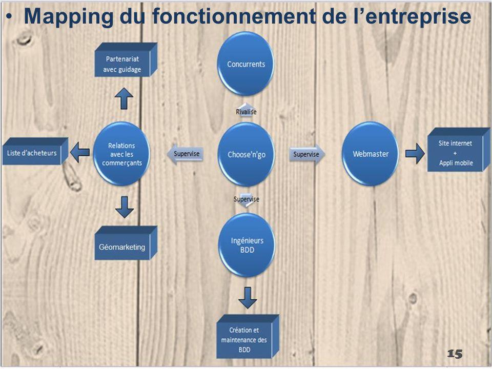 Mapping du fonctionnement de l'entreprise