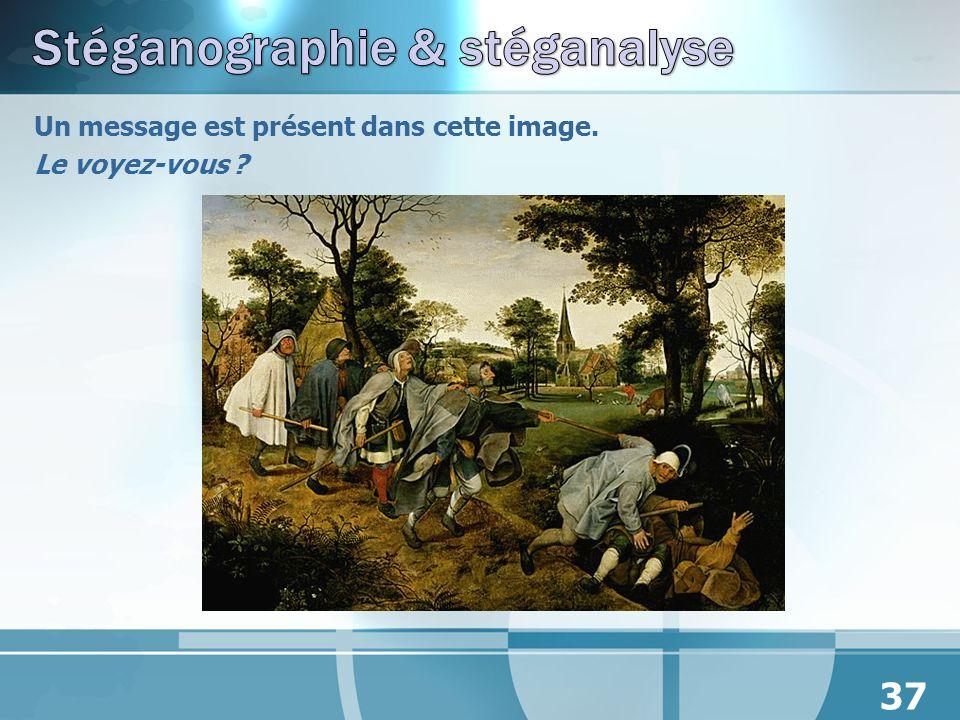 Stéganographie & stéganalyse