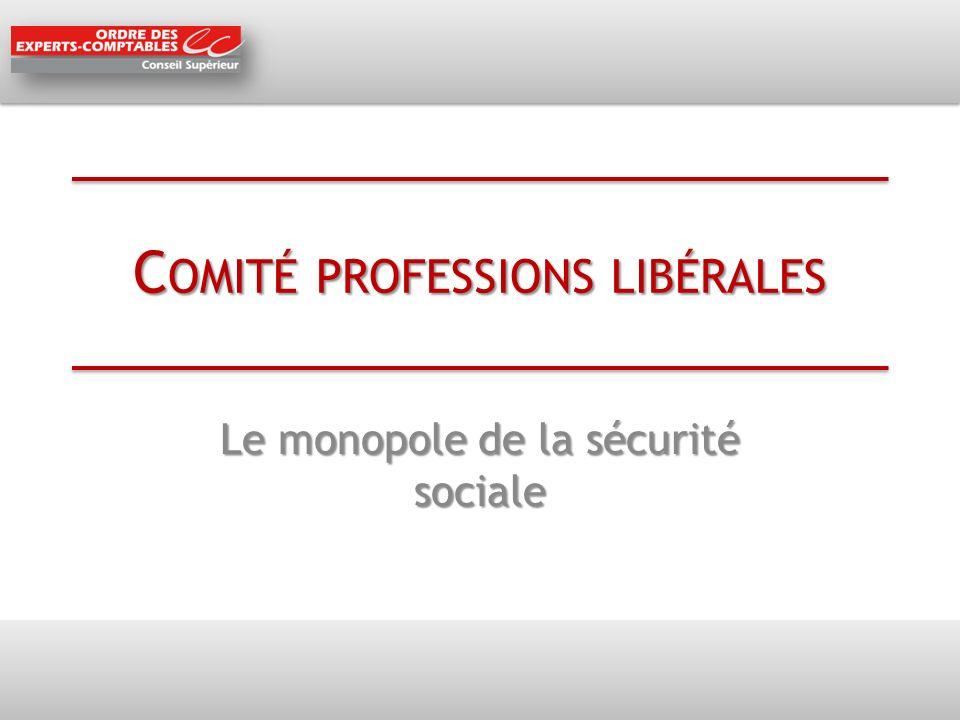 Comité professions libérales