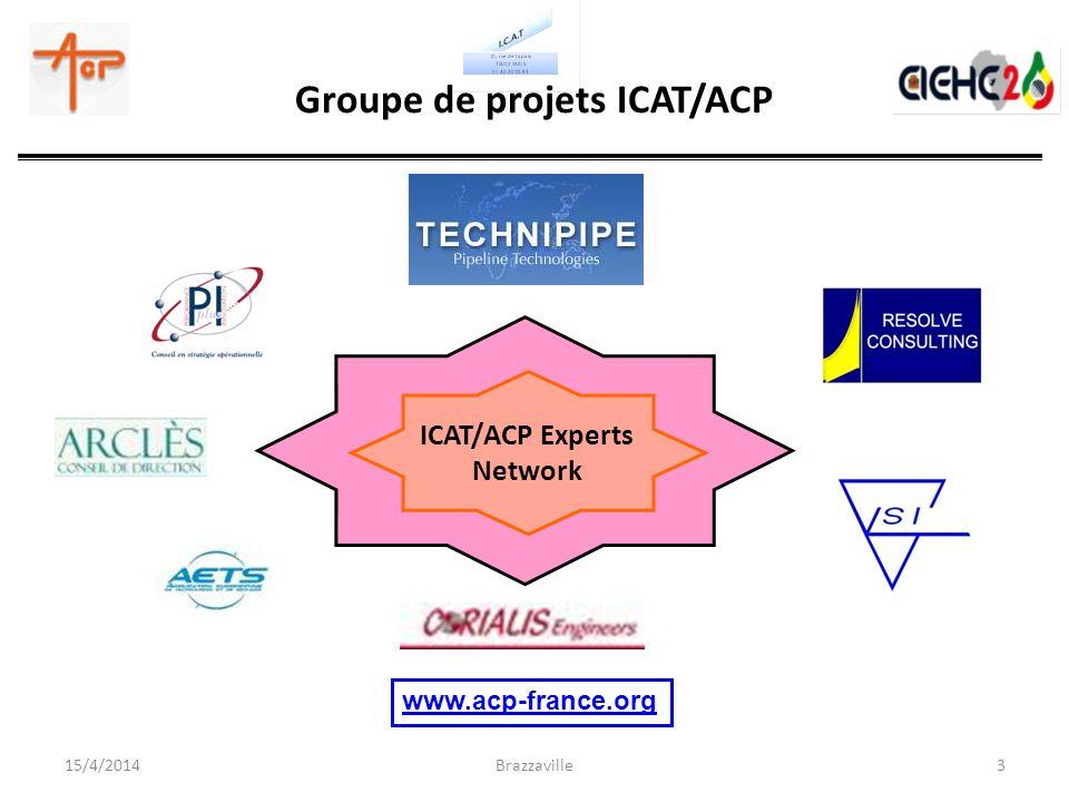 Groupe de projets ICAT/ACP