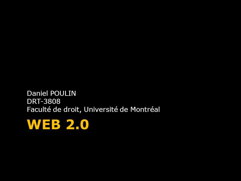 Daniel POULIN DRT-3808 Faculté de droit, Université de Montréal