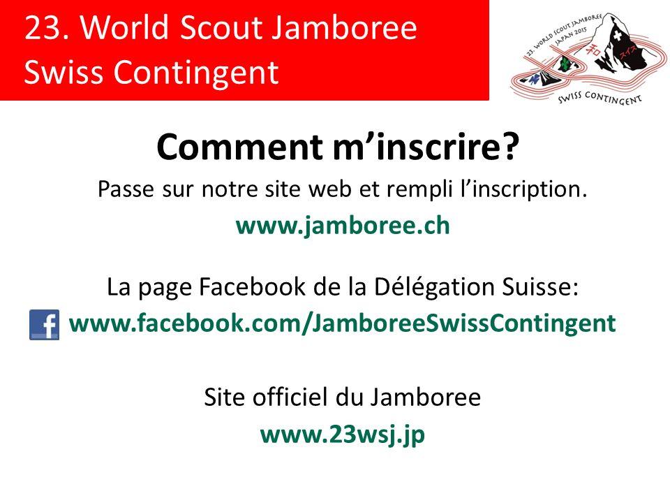 Comment m'inscrire www.jamboree.ch