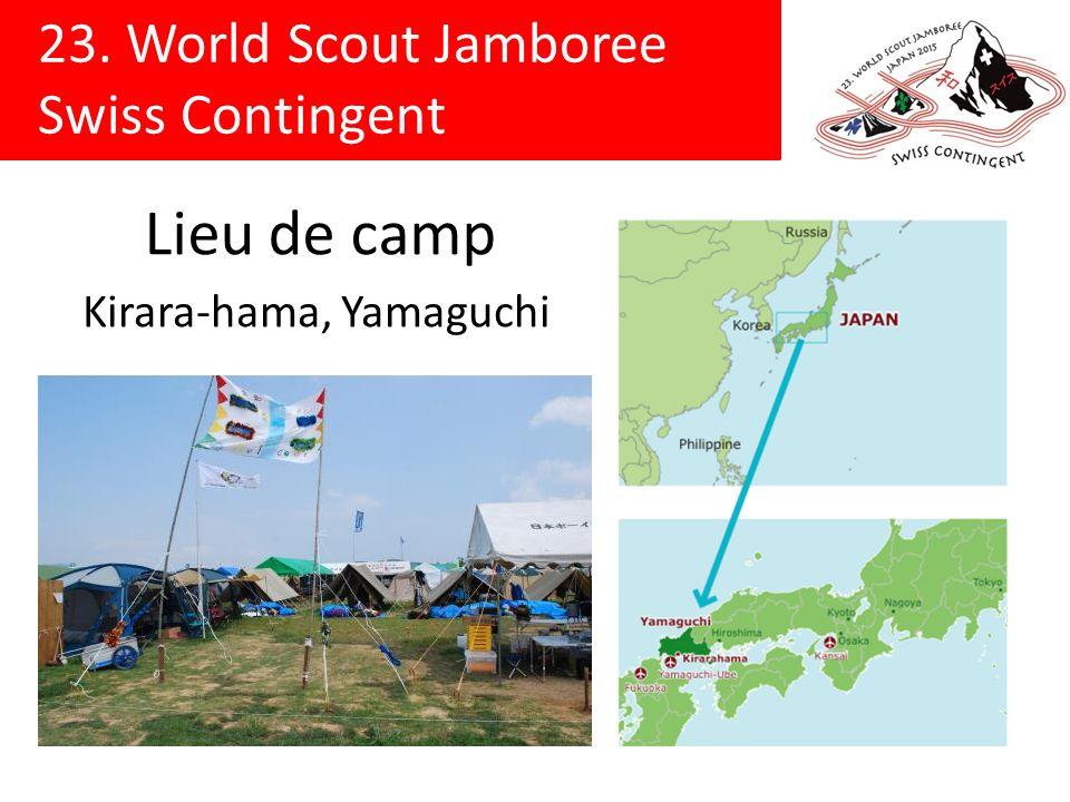Lieu de camp Kirara-hama, Yamaguchi
