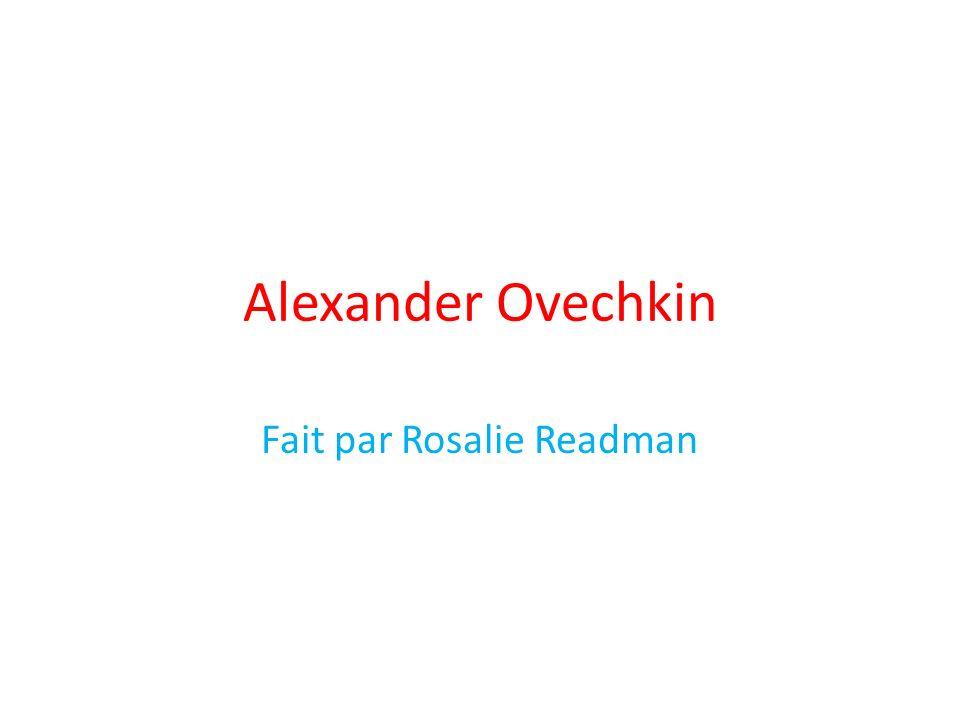 Fait par Rosalie Readman
