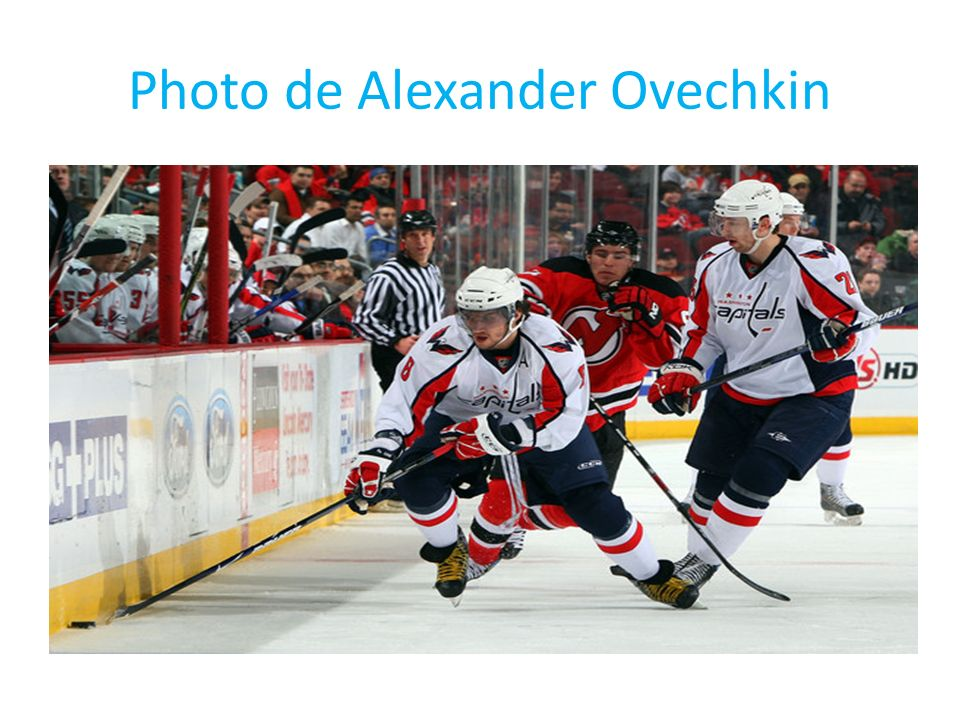 Photo de Alexander Ovechkin