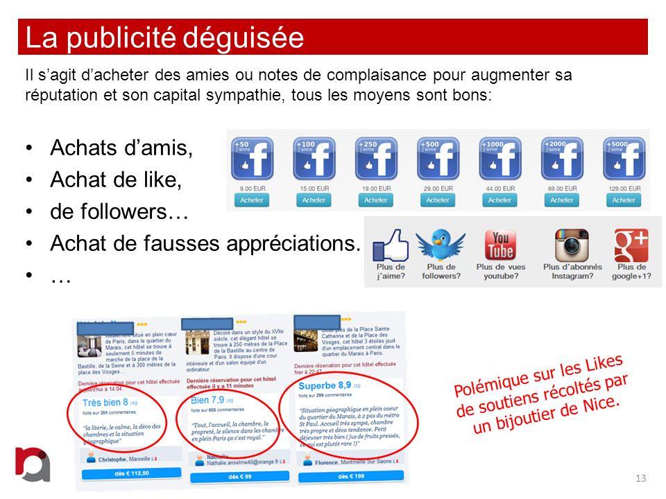 Polémique sur les Likes de soutiens récoltés par un bijoutier de Nice.