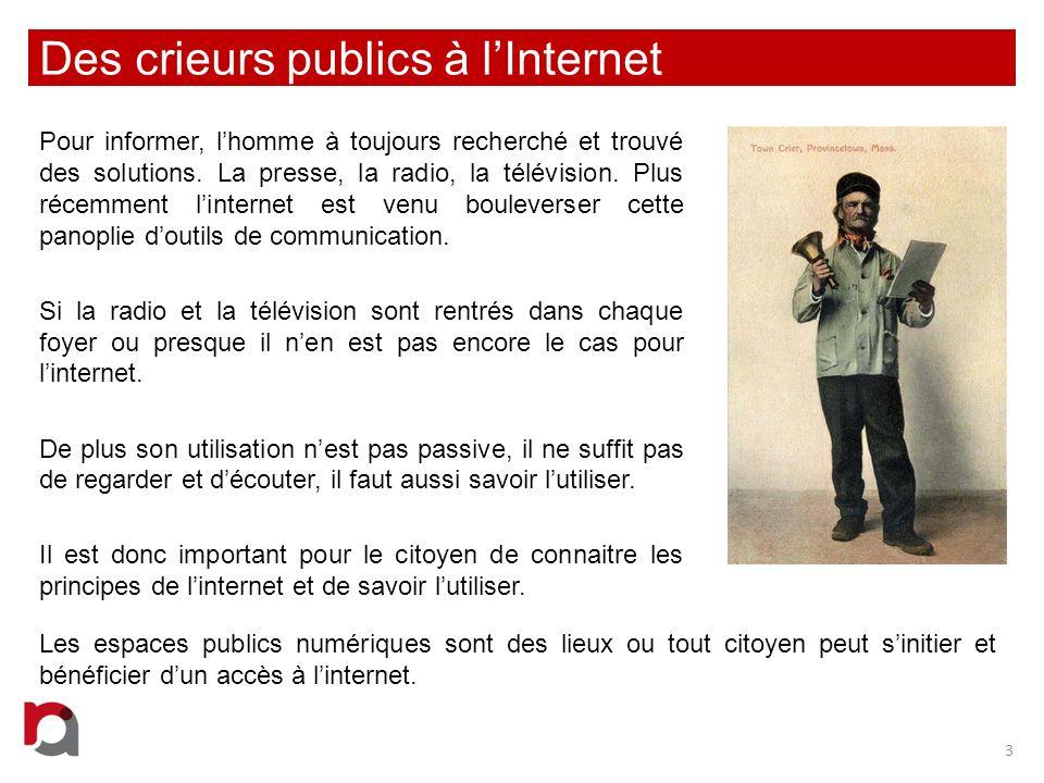 Des crieurs publics à l'Internet