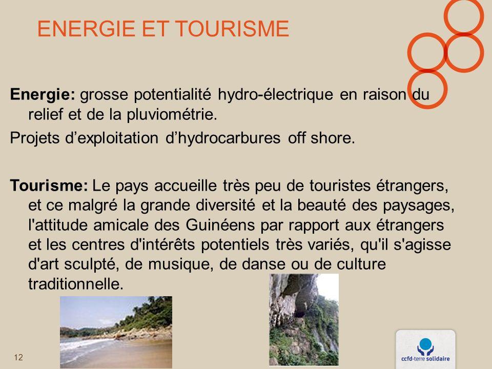 Energie et tourisme