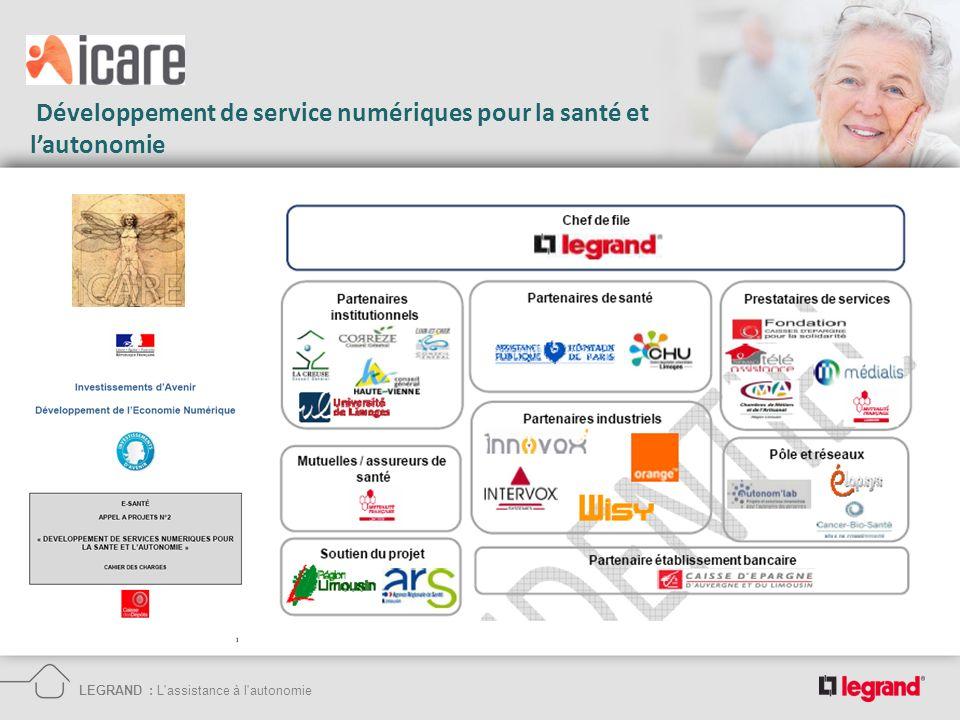 Développement de service numériques pour la santé et l'autonomie