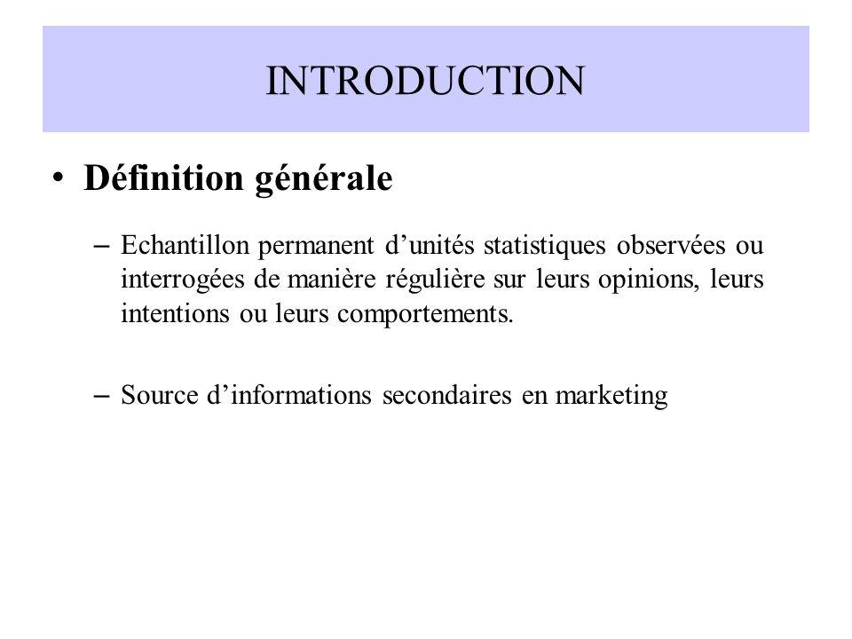INTRODUCTION Définition générale
