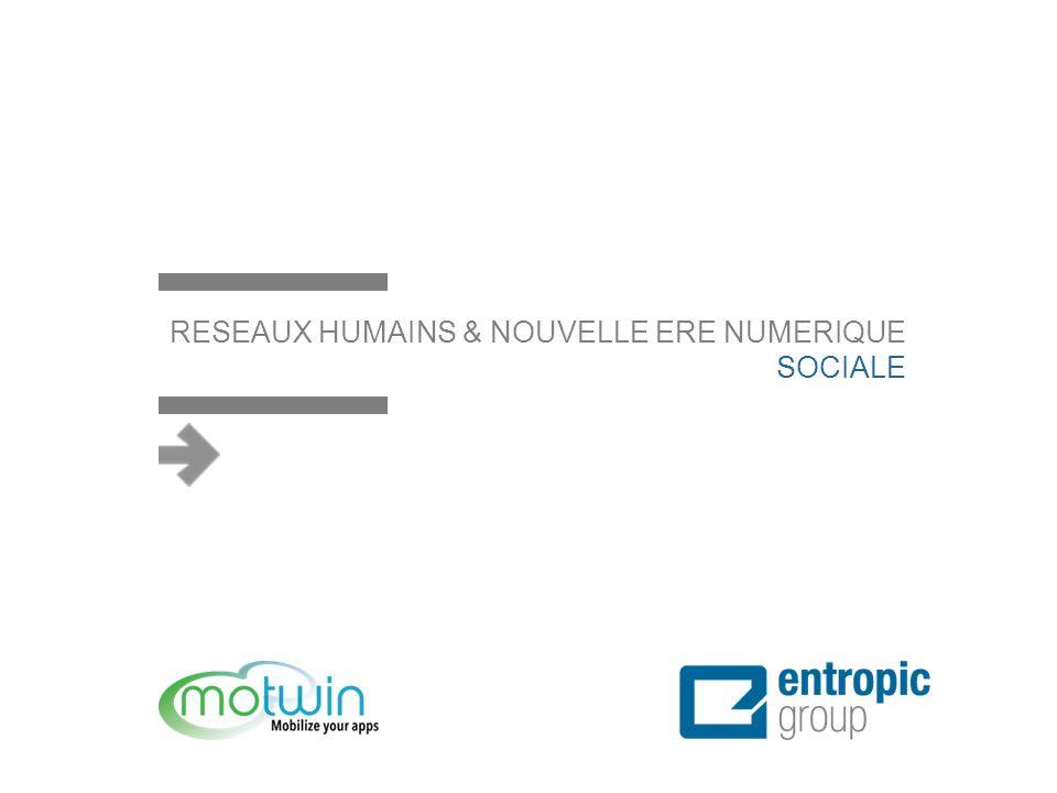 ReseauX Humains & nouvelle ERE NUMERIQUE