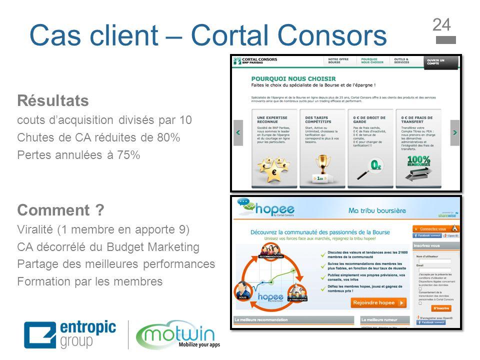 Cas client – Cortal Consors