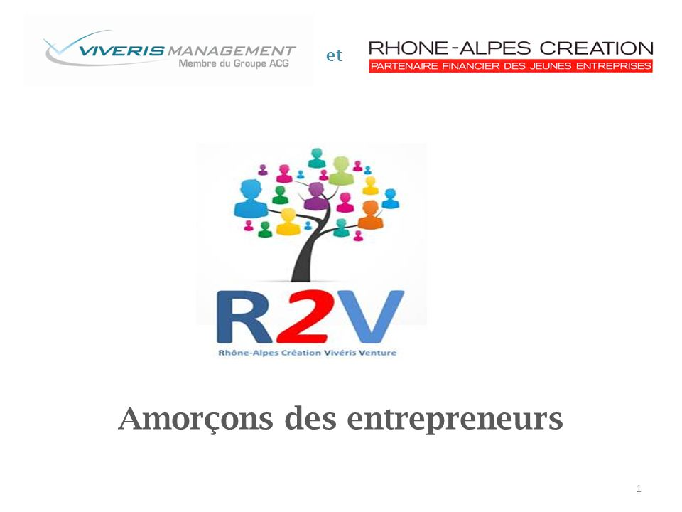 Amorçons des entrepreneurs