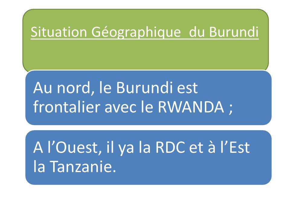 Situation Géographique du Burundi