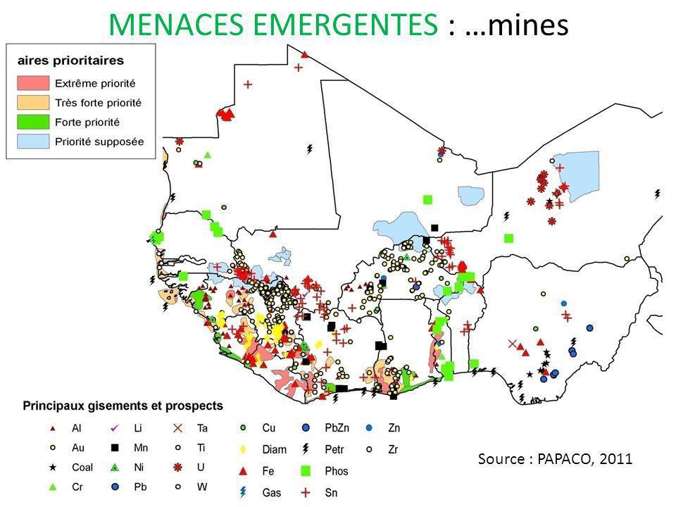 MENACES EMERGENTES : …mines