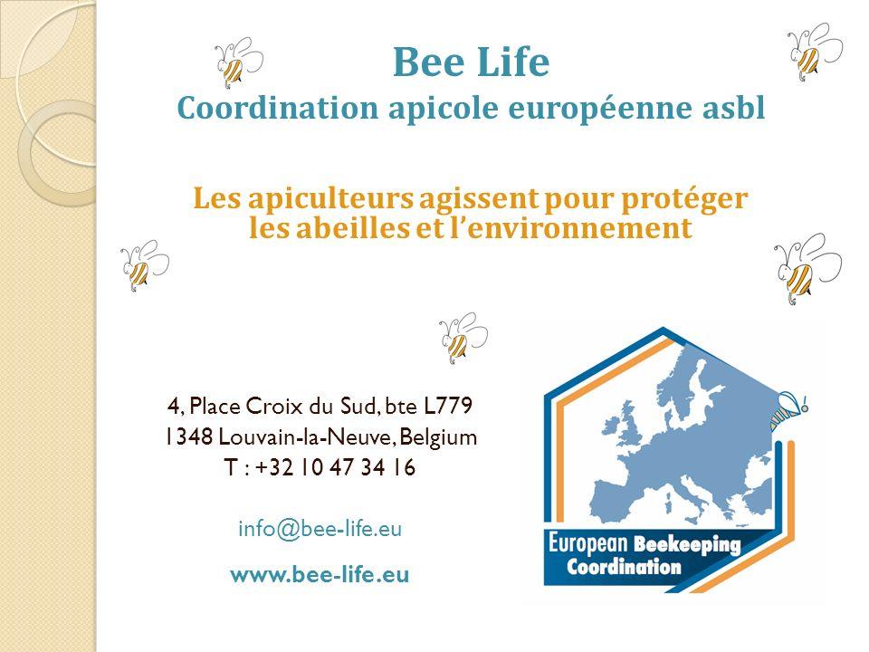 Bee Life Coordination apicole européenne asbl