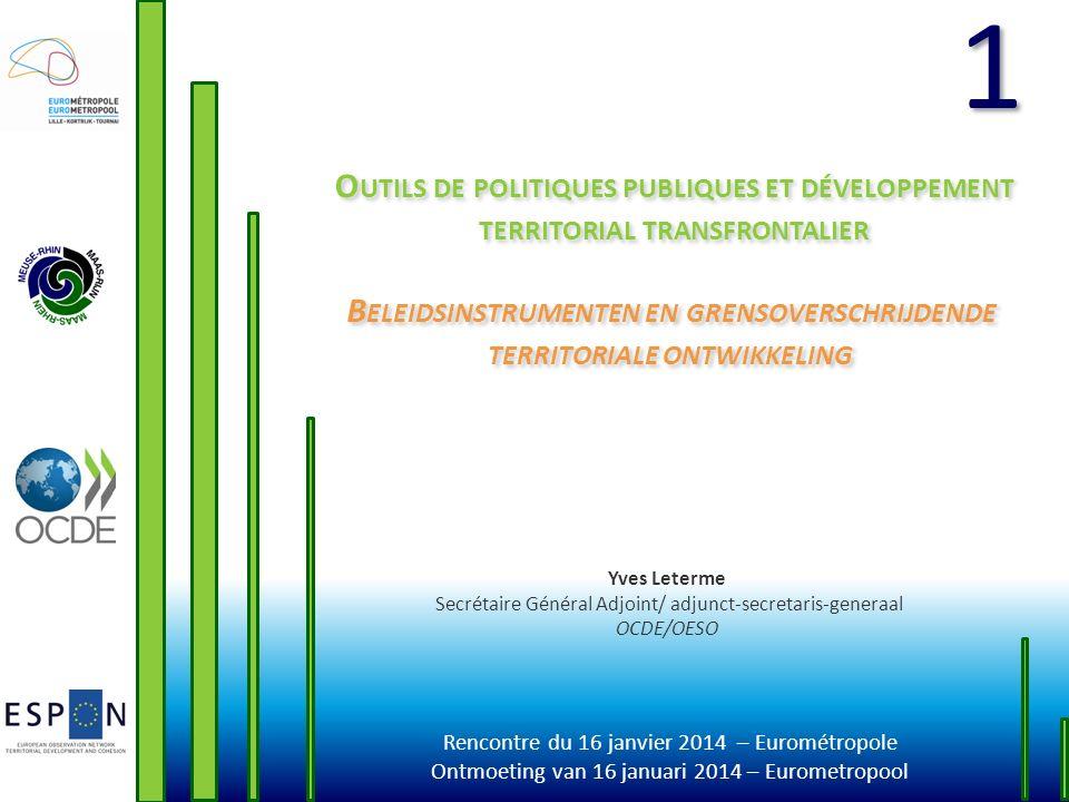 Beleidsinstrumenten en grensoverschrijdende territoriale ontwikkeling
