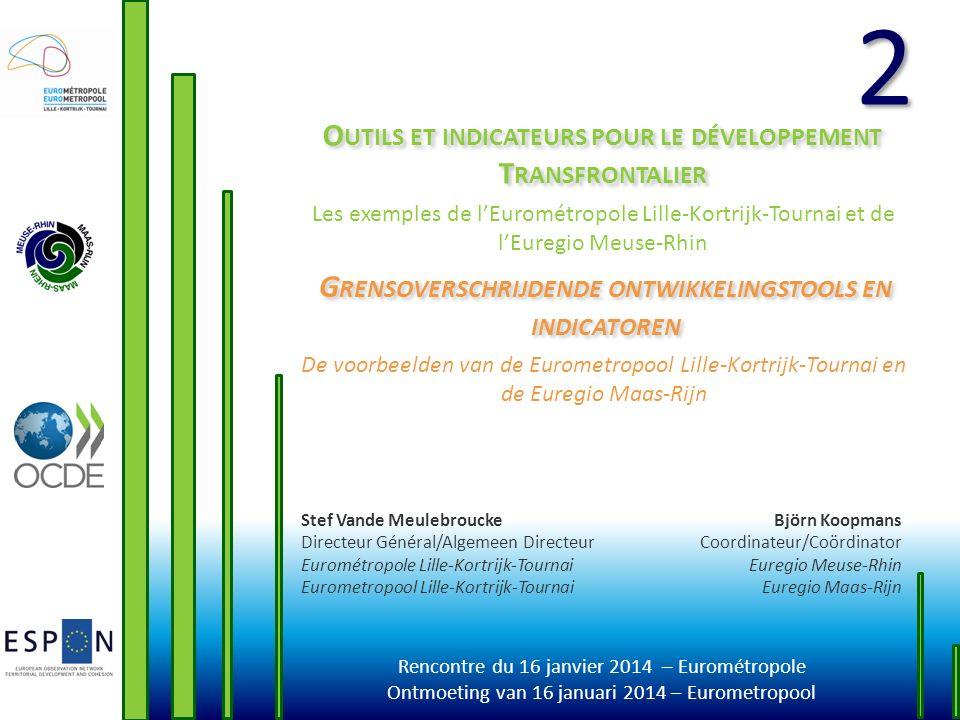 Outils et indicateurs pour le développement Transfrontalier