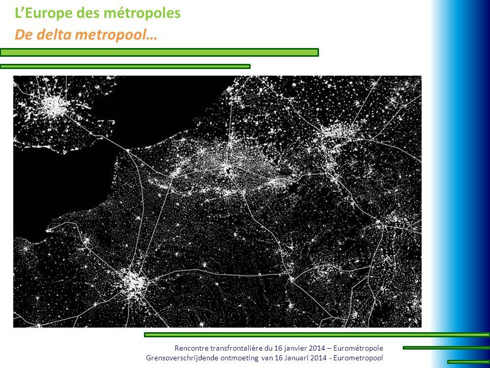 L'Europe des métropoles De delta metropool…