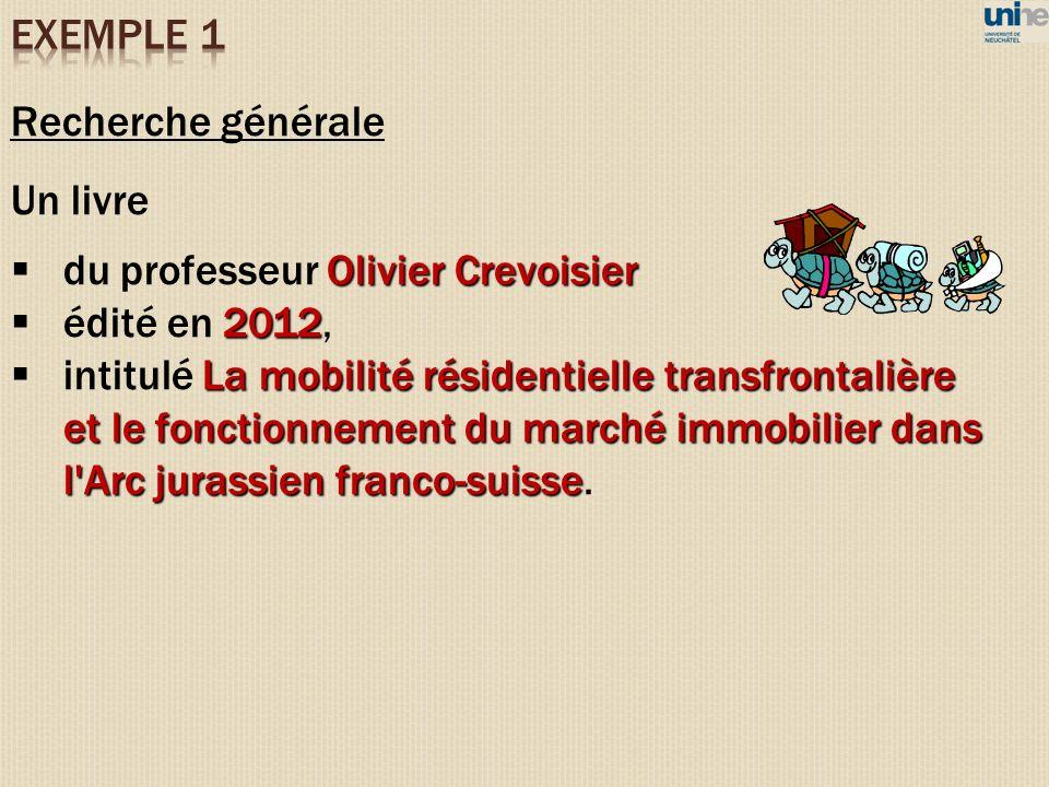 du professeur Olivier Crevoisier édité en 2012,