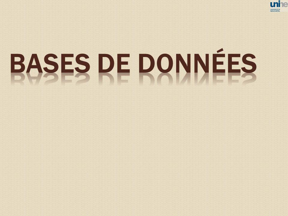 BASES DE DONNéES 45