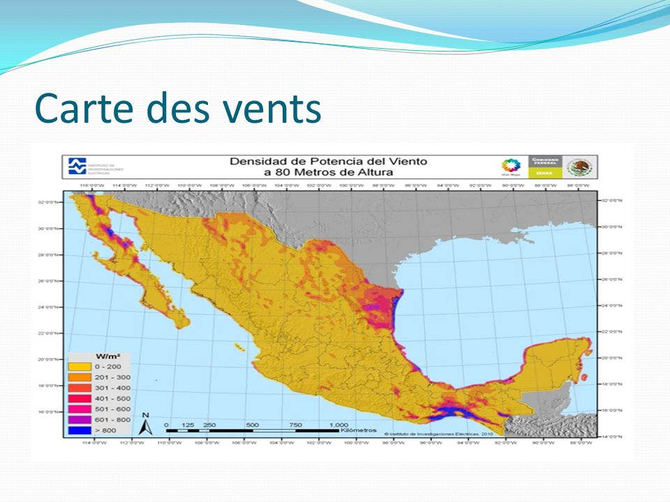 Carte des vents www.awstruepower.com