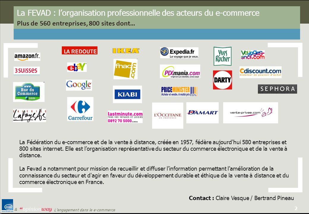 La FEVAD : l'organisation professionnelle des acteurs du e-commerce