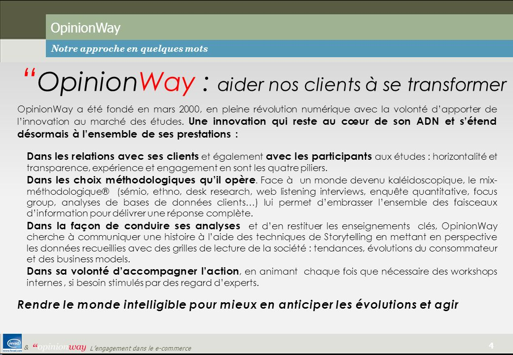 OpinionWay : aider nos clients à se transformer